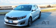214 Kia Optima Exterior Front Side Featured