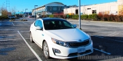 214 Kia Optima Exterior Front Side Parking