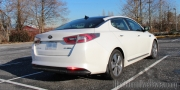 214 Kia Optima Exterior Rear Side Parking