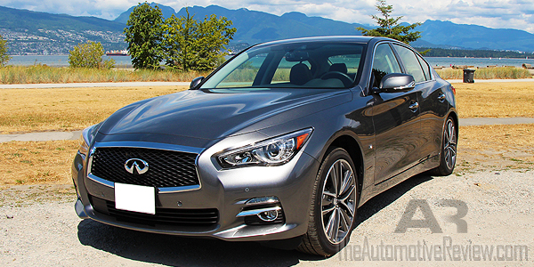 2015 Infiniti Q50 AWD Gray Exterior Front Side