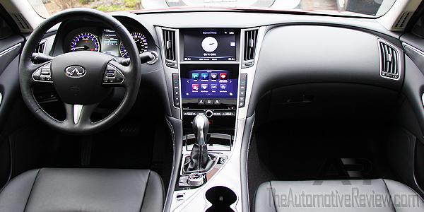 2015 Infiniti Q50 AWD Interior Dash