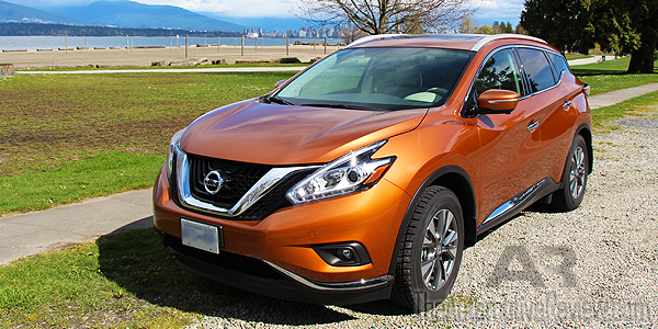 2015 Nissan Murano SL AWD Exterior Front Side Featured