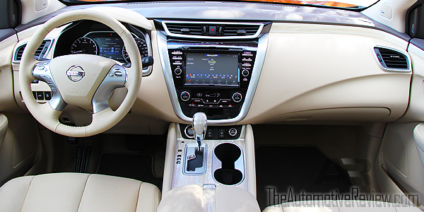 2015 nissan murano sl awd review the automotive review. Black Bedroom Furniture Sets. Home Design Ideas