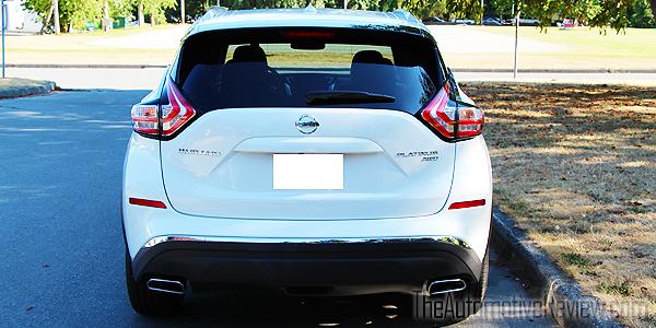2015 Nissan Murano White Exterior Rear