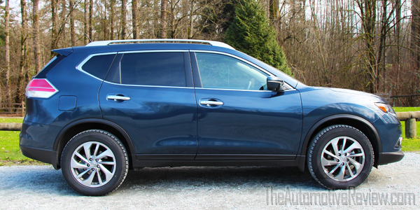 2015 Nissan Rogue Exterior Side