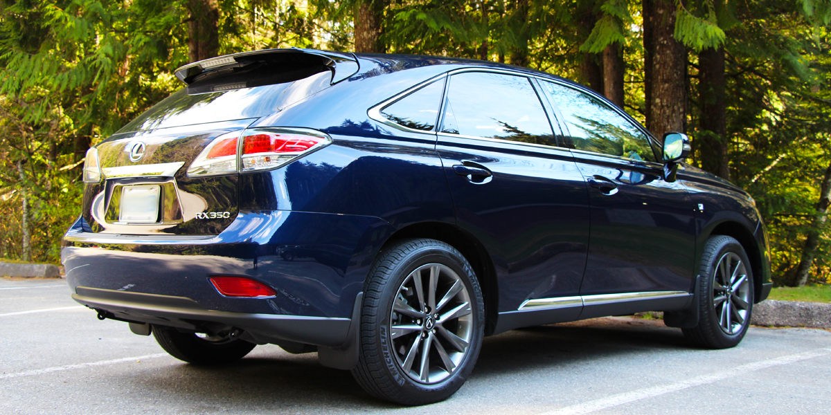 2013 lexus rx 350 the automotive review. Black Bedroom Furniture Sets. Home Design Ideas