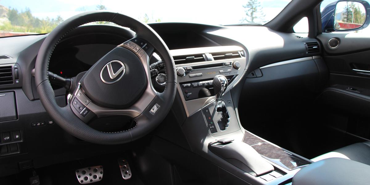 2013 Lexus RX350 Interior
