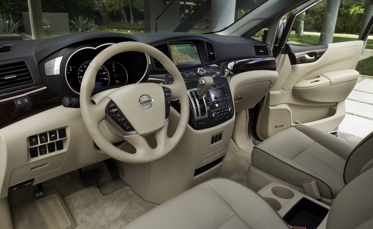 2013 Nissan Quest Interior Dash