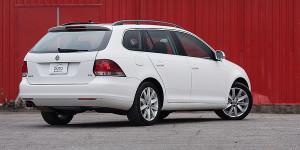 2013 Volkswagen Golf Wagon Exterior