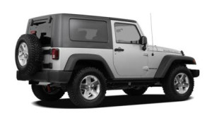 2010 Jeep Wrangler Sahara Exterior Rear Side