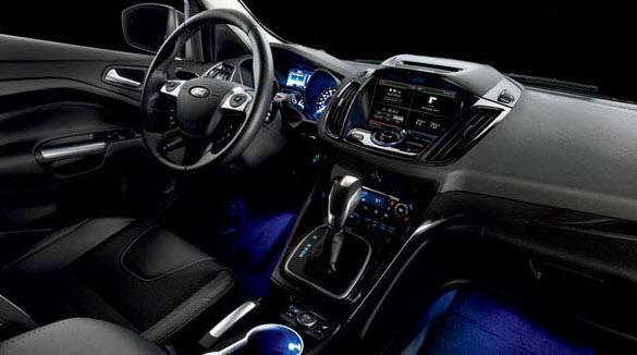 2013 Ford Escape Interior Lighting