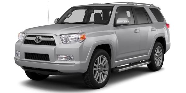 2013 Toyota 4Runner Exterior Front Side