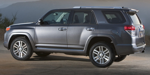 2013 Toyota 4Runner Exterior Side