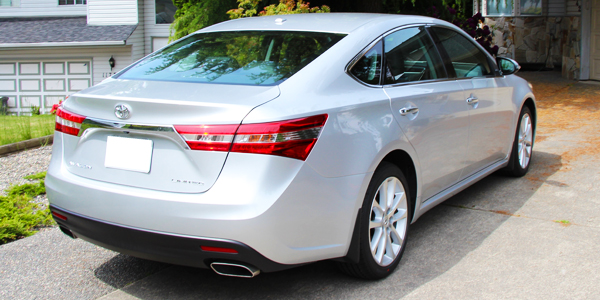 2013 Toyota Avalon Exterior Rear