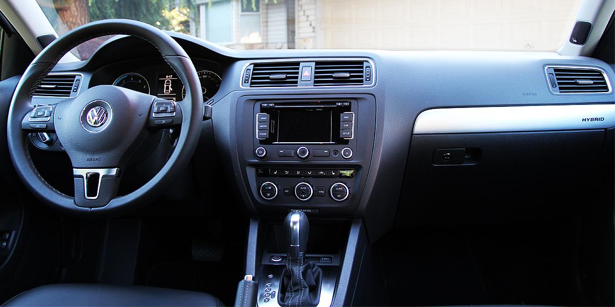 2013 Volkswagen Jetta Hybrid Highline Interior