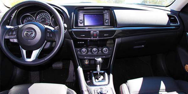 2013 Mazda 6 Interior