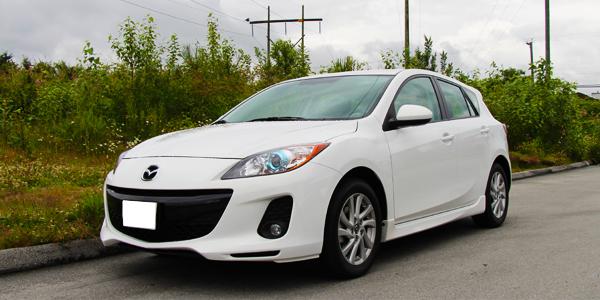 2013 Mazda 3 Exterior Front Side