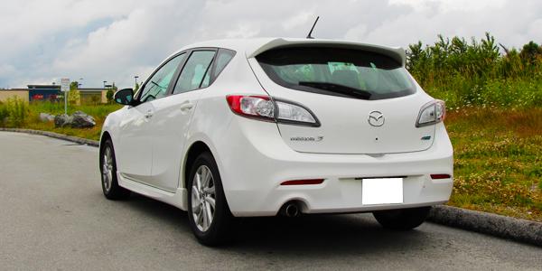 2013 Mazda 3 Exterior Rear