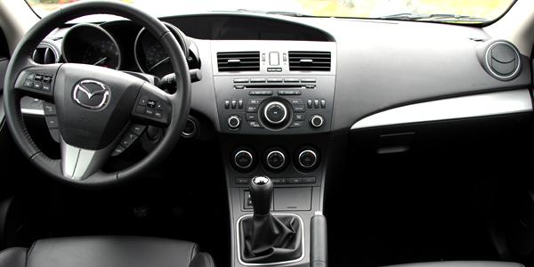 2013 Mazda 3 Interior