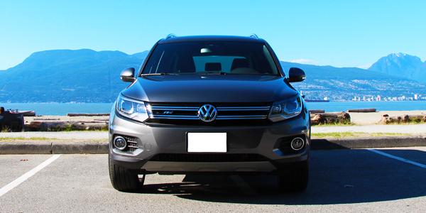 2013 Volkswagen Tiguan Exterior Front