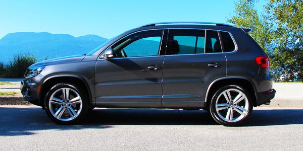 2013 Volkswagen Tiguan Exterior Side