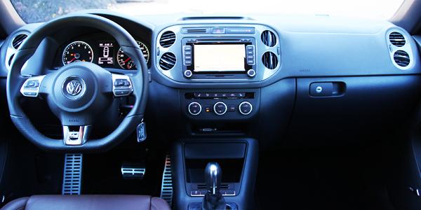 2013 Volkswagen Tiguan Interior Dash
