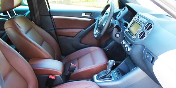 2013 Volkswagen Tiguan Interior Front