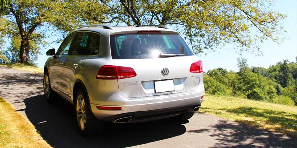 2013 Volkswagen Touareg Execline TDI Rear