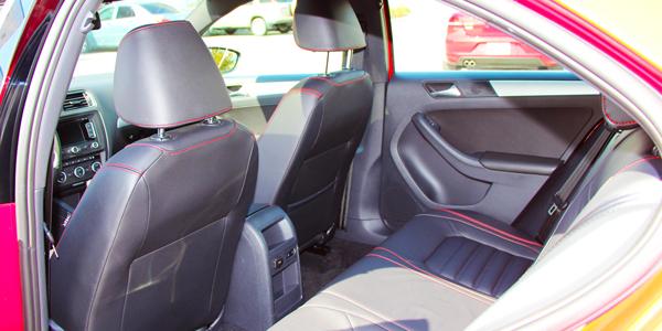 2013 Volkswagen Jetta GLI - Interior Rear