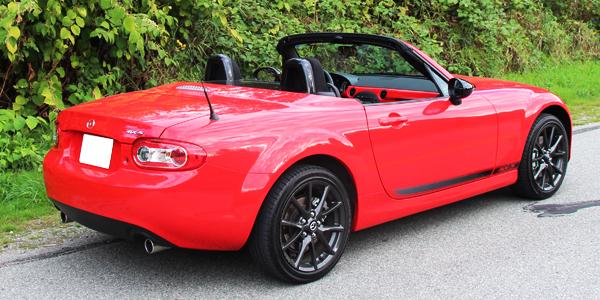 2013 Mazda MX-5 Exterior Rear Side