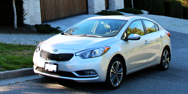 2014 Kia Forte SX Sedan Exterior Front Side