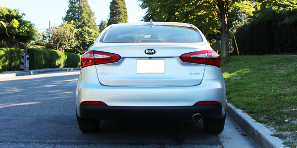 2014 Kia Forte SX Sedan Exterior Rear