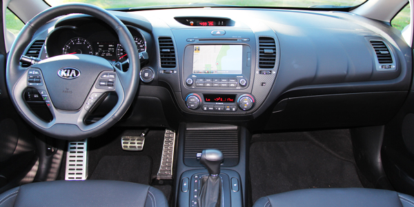 2014 Kia Forte SX Sedan Interior