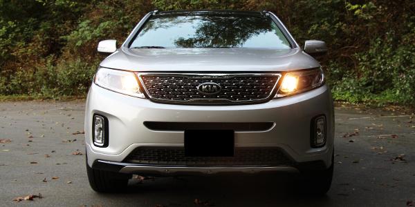 2014 Kia Sorento SX Exterior Front