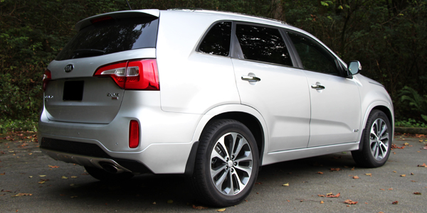 2014 Kia Sorento SX Exterior Rear Side