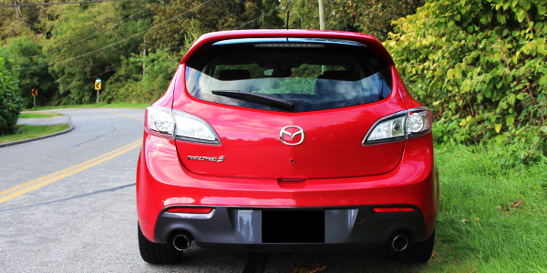 2013 Mazda Speed 3 Exterior Rear