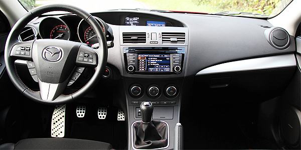 2013 Mazda Speed 3 Interior