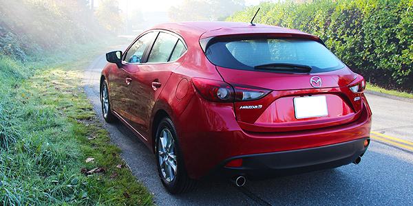2014 Mazda 3 Exterior Rear Side