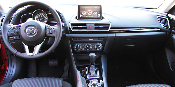 2014 Mazda 3 Interior