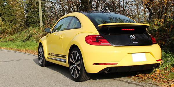 2014 Volkswagen Beetle GSR Exterior Rear Side