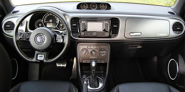 2014 Volkswagen Beetle GSR Interior Dash