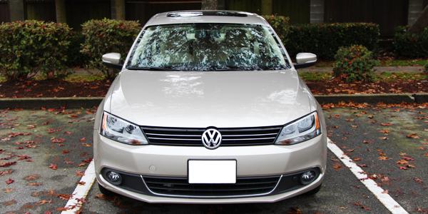2014 Volkswagen Jetta TDI Exterior Front