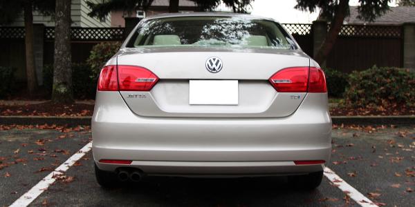 2014 Volkswagen Jetta TDI Exterior Rear