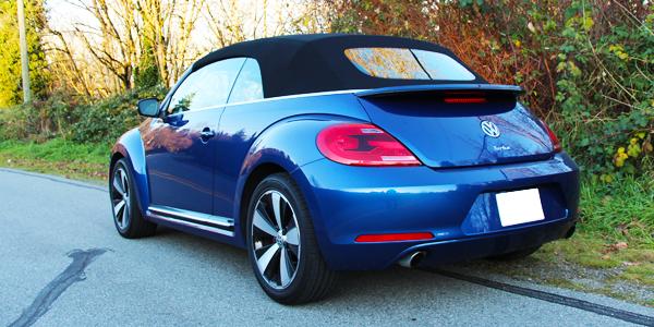 2014 Volkswagen Beetle Convertible Exterior Rear Side