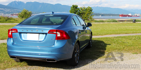 2015 Volvo S60 T5 Exterior Body Rear Side