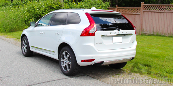 2014 Volvo XC60 T6 AWD Exterior Side Rear