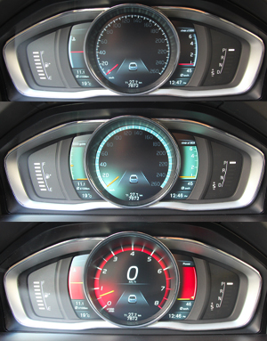 2014 Volvo XC60 T6 AWD Interior Dash Classic Eco Performance Gauges