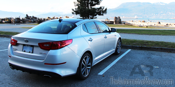 2014 Kia Optima Exterior Rear Side