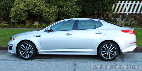 2014 Kia Optima Exterior Side