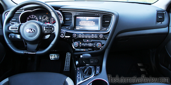 2014 Kia Optima Interior Dash